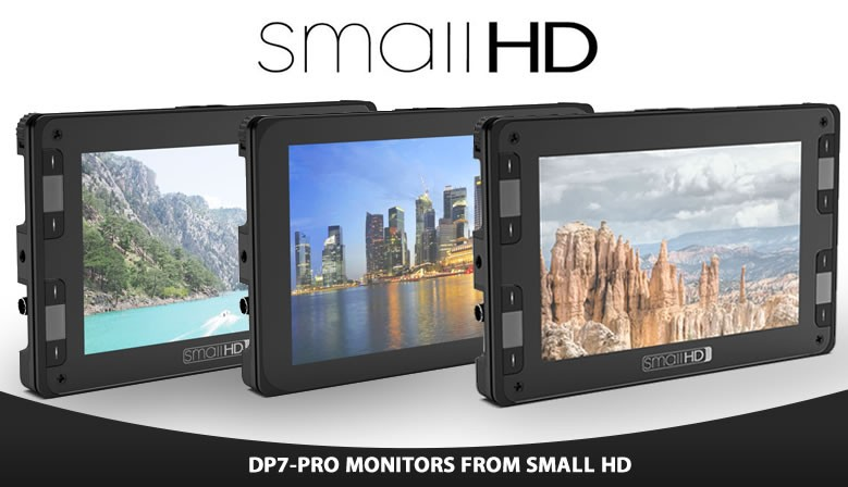 Small HD DP7-PRO Monitor line at Nebstore