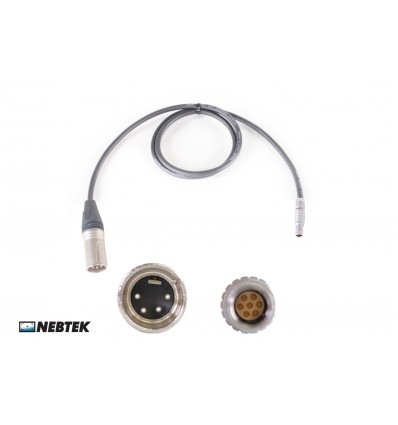 NEBTEK XLR to MicroLite Transmitter Power Cable