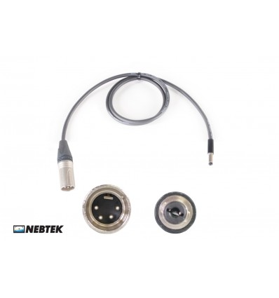 NEBTEK XLR to MicroLite Receiver Power Cable