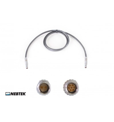 NEBTEK ARRI2 to MicroLite Transmitter Power Cable