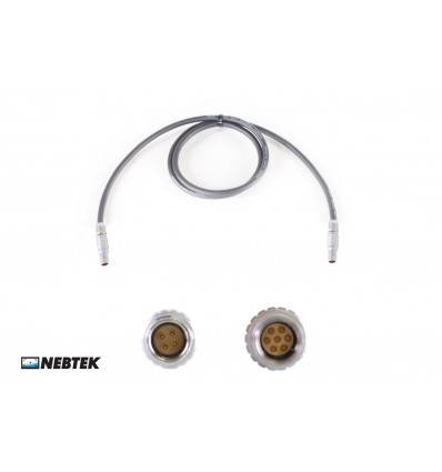 NEBTEK Red to MicroLite Transmitter Power Cable