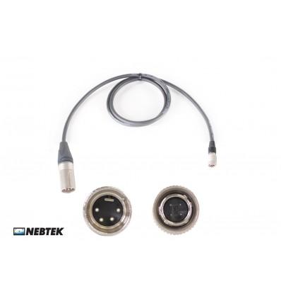 NEBTEK XLR to SmallHD DP7 Power Cable