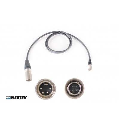 NEBTEK XLR to Pix240(i) Power Cable