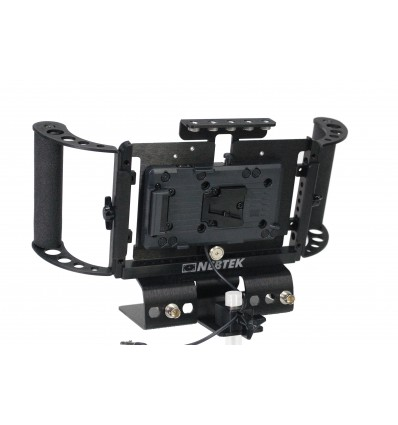 Odyssey7 Power Bracket with IDX Battery Adapter