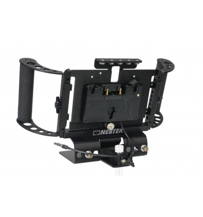 Odyssey7 Power Bracket with Anton Bauer Battery Adapter