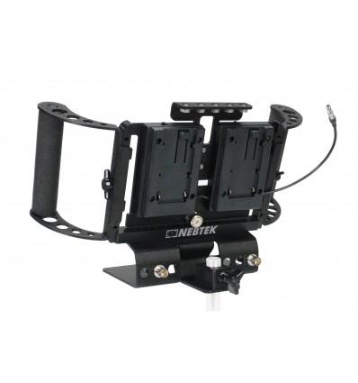 Odyssey7 Power Bracket Dual DV (Canon)