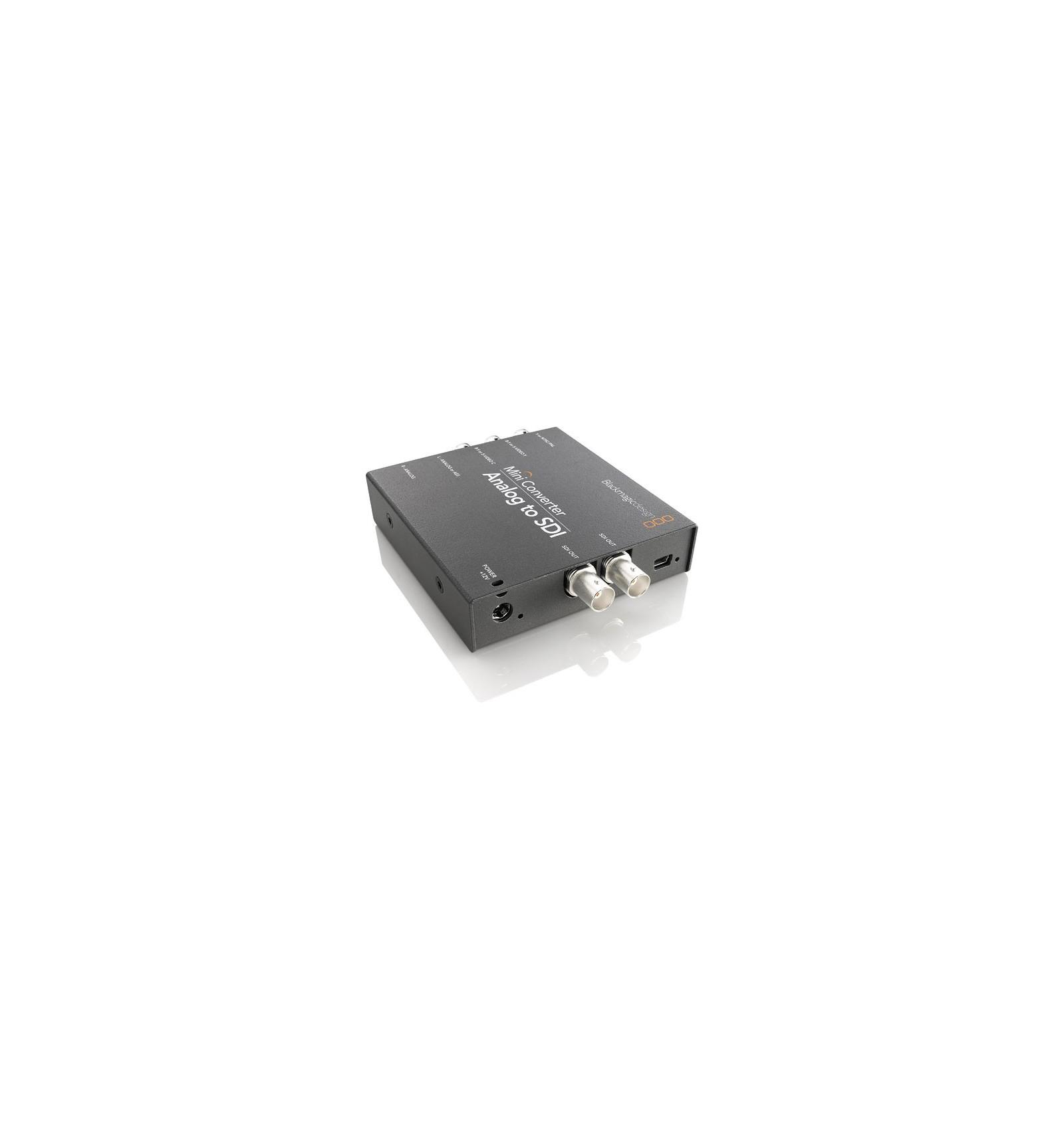 Blackmagic analog To sdi mini Converter Manual